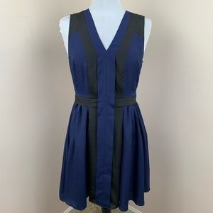 CROSBY by Mollie Burch NWT Navy Laura Dress Sz 8